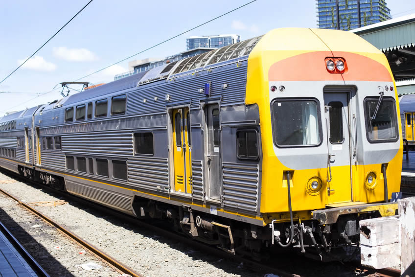 Transports en Australie : Train