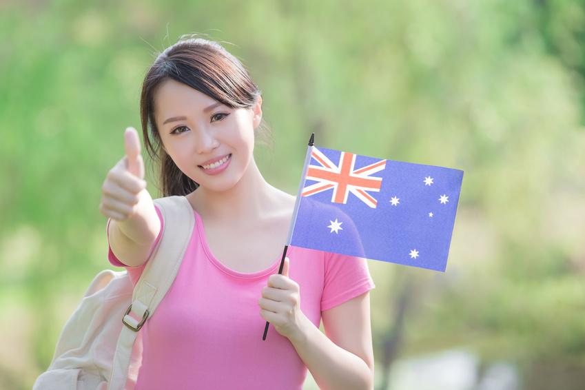 Etudiante australienne