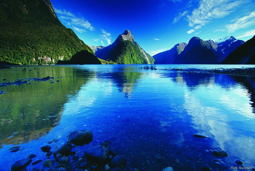 Les voyages à partir de l'Australie : Milford Sound Nouvelle Zélande