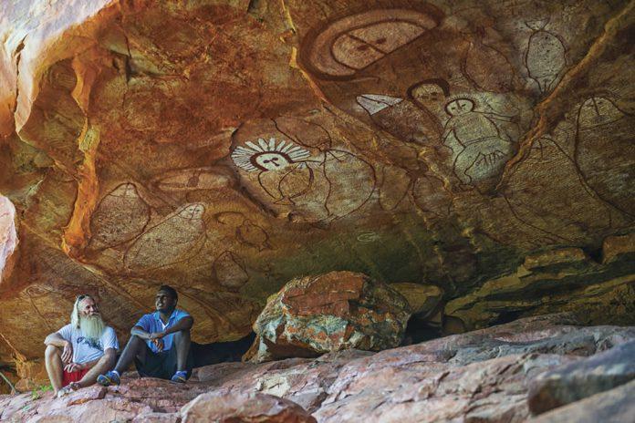 Esprits Wandjina Australie de l'Ouest