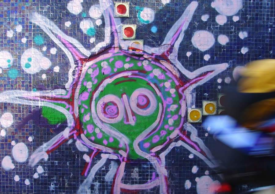 Graffiti Esprits Wandjina