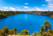 Limestone Coast : Blue Lake