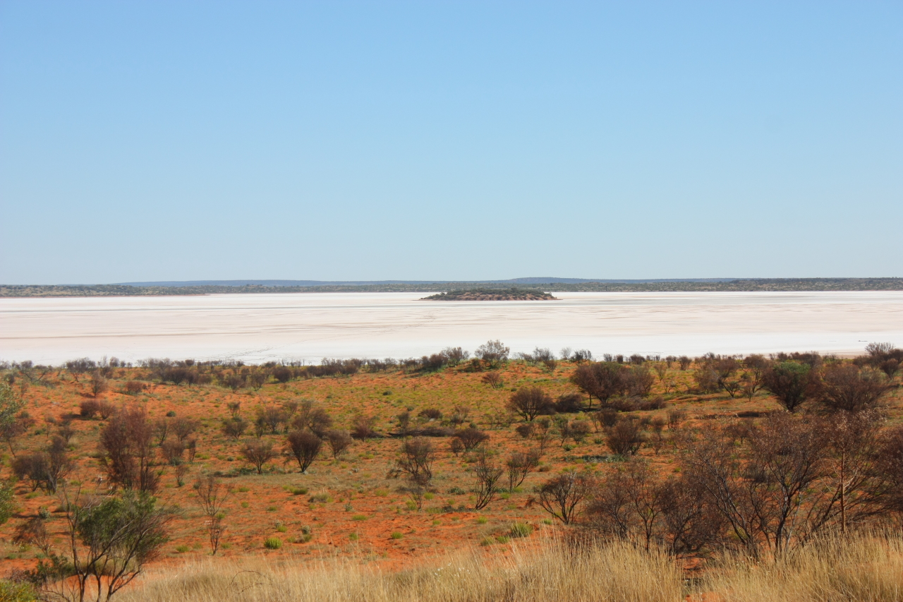 Lake Amadeus dans le Northern Territory
