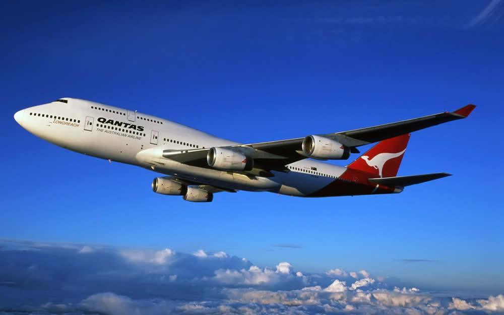 Carte Vol Qantas Australie.Un Serieux Incident De Vol Pour Un 747 De Qantas