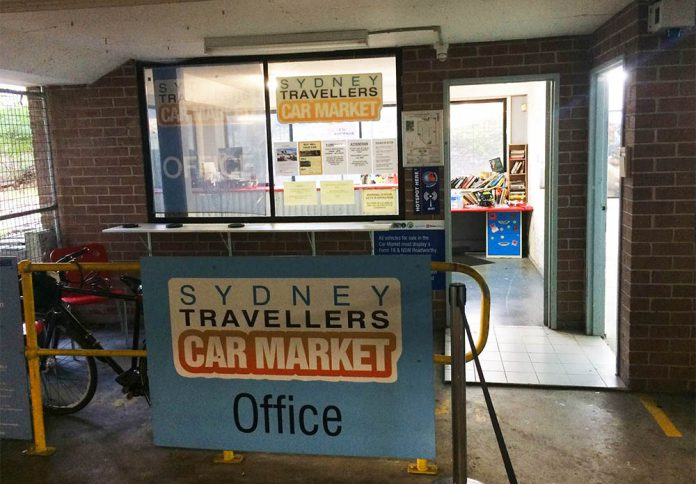 sydney travellers car market