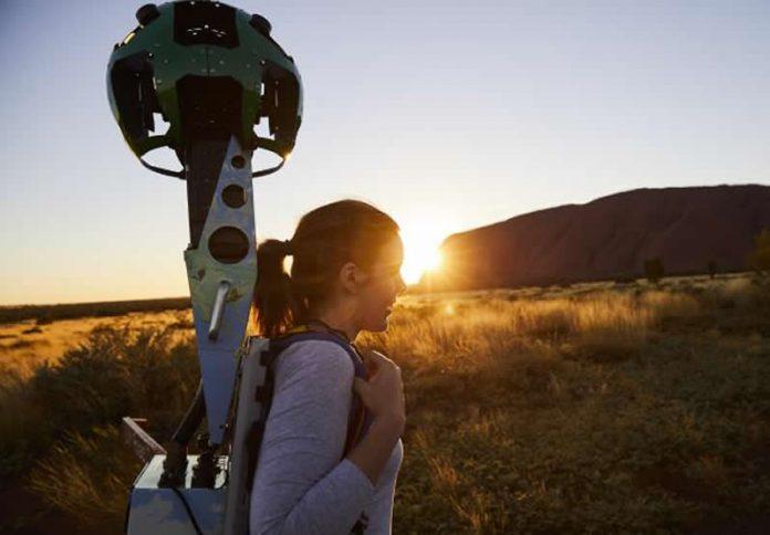 Uluru Google Street view