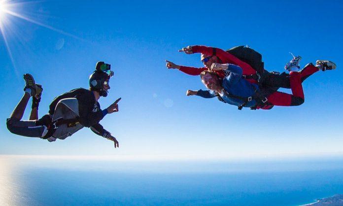 saut parachute australie