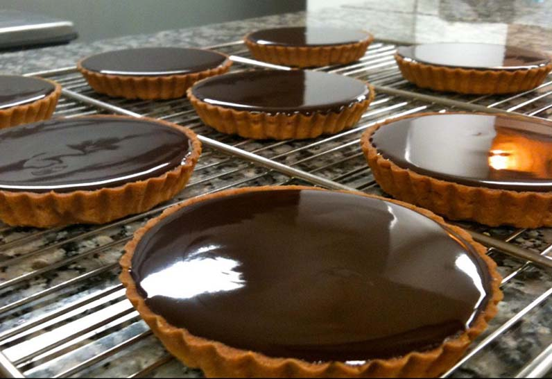 tartes chocolat