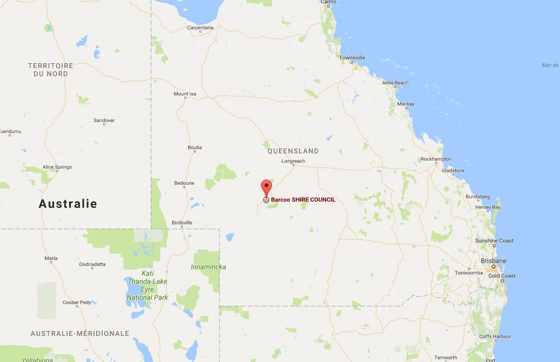 mobile dans l'Outback