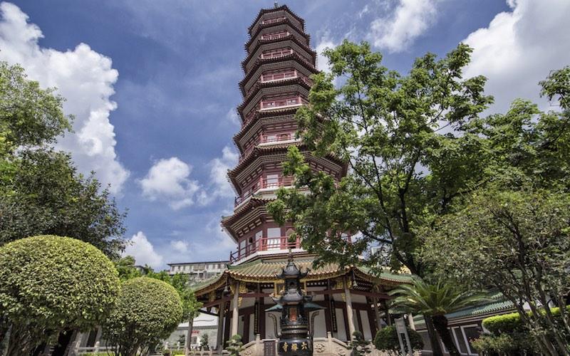 temple six banians