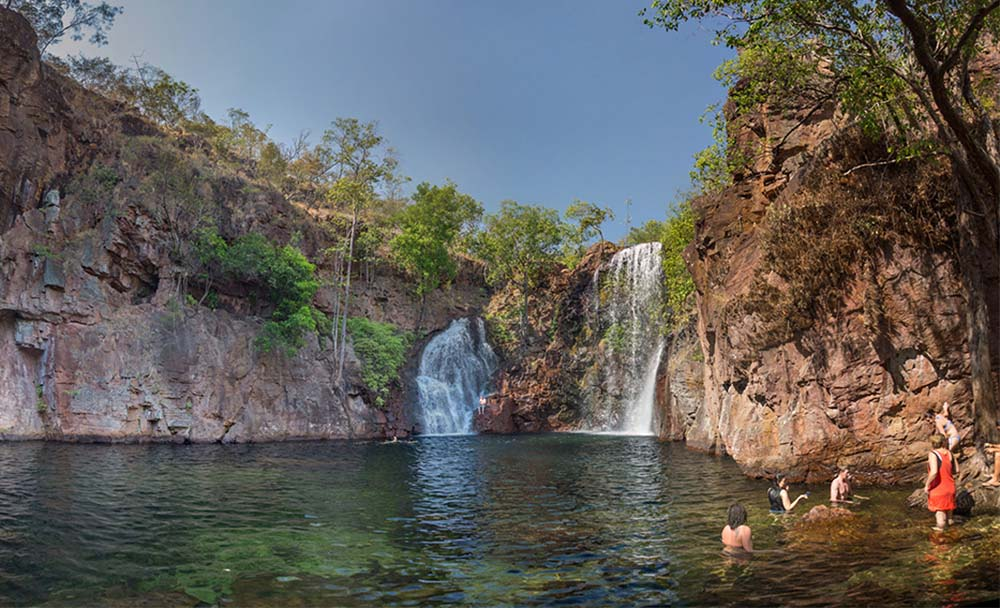 Swimming holes : florence falls
